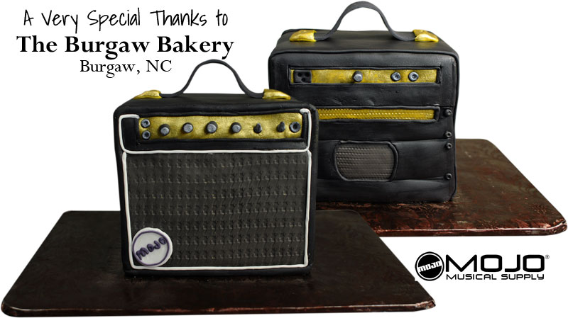 Mojo Amplifier Cake